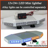 LED Flashing Beacon Mini Lightbar in Separately Control Alley Lights