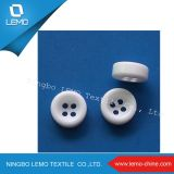 White Resin Button for Garment