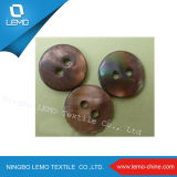 Natural Printed Decorative River Shell Button