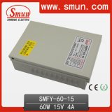 60W 15V 4A Rainproof CCTV IP67 Switching Power Supply