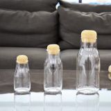 Home Decoration Art Glass Bottle for Food Storage