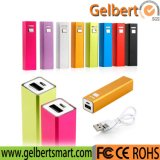 Promotional Gift 2600mAh Mini Portable Powerbank Power Bank with RoHS
