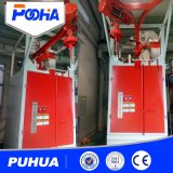 Double Single Hook Type Shot Blasting Machine for Derusting