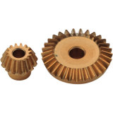 Customized Brass Small Micro Bevel Gears for Grinder
