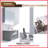 Vanity Combo Type and Yes Include Mirror Solid Wood Bathroom Wash Basin Cabinet