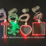 LED Light Necklace Promotion Gift with Logo Printed (2001)