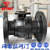 Flanged Ends Carbon Steel API Two Piece Ball Valve
