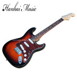 Hanhai Music / St Style Electric Guitar with Red Pickguard