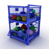 Industrial Foldable Hot Sale Warehouse Metal Wire Mesh Crate