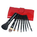 9PCS Portable Make up/Cosmetic Brush for Traveling