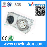 Waterproof Single Phase Pin Combo Switch Socket with CE