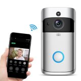 Home Security 2 Way Intercom 720p WiFi Battery Video Door Phone