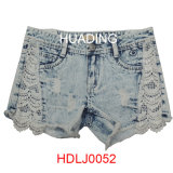 2016 Wholesale Garment Jeans Short Denim Short (HDLJ0053)