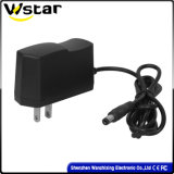 18W Power Adapter for Tablet/Set-up Box Us Standard Tripod Square Copper Plug