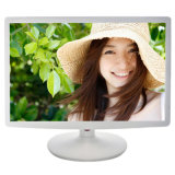 "White Medical 19"" Widescreen VGA AV USB TV Inputs LED LCD Computer Monitor for Dental"