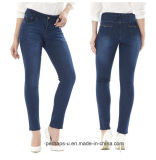 China Manufacturers Selling Large Size Women Clothes Slim Jeans