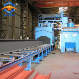 Roller Type Shot Blasting Machine for Steel cleaning