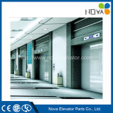 Passenger Elevator Lift with Hairline Stainless Steel Cabin