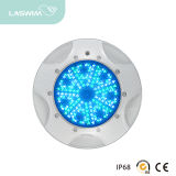 Wall-Mounted Type 12V Safety Low Voltage Plastic Flat Light LED Swimming Pool Light Cool White Warm White RGB and Single Blue