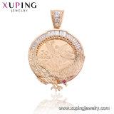 33067 Fashion Jewelry Luxury Diamond Big Sweather CZ Pendant Necklace