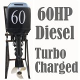 Diesel Outboard Engine 4 Stroke 60HP Water Cooled with Turbocharge