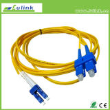 Hot Sale Fiber Optic Patch Cord with Single Model Duplex
