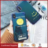 Lovely Cartoon Pattern with Blue-Ray Soft Silicone Customized Back Cover