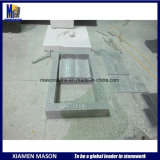 Chinese Granite Open Book Memorial with Kerbs