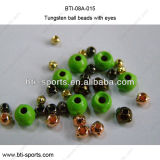 High Quality Fly Tying Terminal Material - Nymph Head Tungsten Ball Beads with Eyes 08A-015
