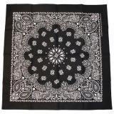 Wholesale Cheap Promotion Gift Multi 100% Cotton Fabric Square in Stock Paisley Bandana