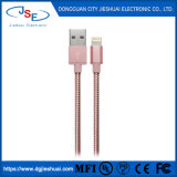 Mfi Certified Metallic Lightning USB Chargersync Cable for Apple iPhone/iPad/iPod