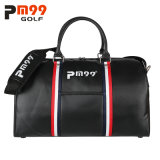 Waterproof PVC Golf Boston Bag with Shoes Compartment
