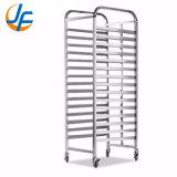 OEM Stainless Steel Bakery Bread Cooler Trolley Tray Rack Trolley