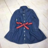 Jeans Dress for Kids Wear Baby Girl Dress