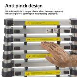 Aluminum Telescoping Ladder Folding Extension Ladder Length up to 12.5 Feet