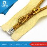 5# Wenzhou 25cm Accessories for Gold Teeth Nylon Zipper