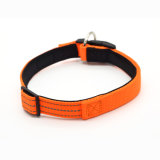 Nylon Reflective Light Diving Cotton Collar Magnetic Protective Adjustable Collars for Dogs