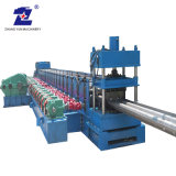Suzhou New Product Bolt Cost Per Foot Guardrail Production Line Highway Guardrail Cold Roll Forming Machine Supplier