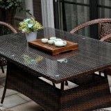 Outdoor Patio Furniture Rattan and Plastic-Wood Garden Sofa Sets