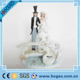 Polyresin Resin Wedding Cake Topper for Decoration