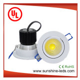 30W Recessed/Waterproof/Dimmable COB LED Ceiling Downlight