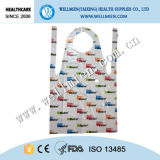 Plastic Cheap Colored Printed Aprons