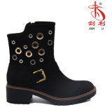 Women Fashion Rivet Good Quality Sexy PU Ankle Boots (AB625)