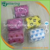 Veterinary Animal Patterned Non Woven Cohesive Elastic Pet Bandage