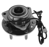 Front Wheel Hub & Bearing for Chevy Trailblazer Gmc SUV W/ ABS 6 Lug (513188) 12413037, 12413257, 15130858, 8124130370, 8151308580