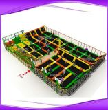 New Style Large Rectangle Trampoline with Ladder