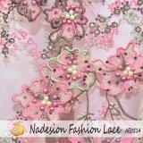 2018 New Arrival 3D Lace/3D Lace Fabric/3D Applique Mesh Net Tulle Fabric