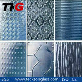 3-8mm Clear Patterned Glass with CE&ISO9001