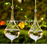 2016 Hot Sale Teardrop-Shaped Hanging Glass Vase for Home Decoration
