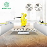 Stone Edge Cutting Machine CNC Bridge Saw Granite Marble Cutting Machine for Stone Processing